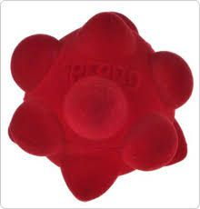 Sprong Ball Interactive Dog Toy - Bouncy Soft Super Squeaky Dog Ball for Large Breed, Medium and Small Dogs(RED)