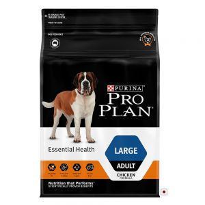 PRO PLAN Large Breed Adult Dry Dog Food - Chicken 2.5KG