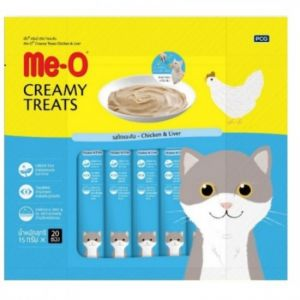 Me-O Creamy Cat Treats Chicken and Liver 300g For Cats & Kittens