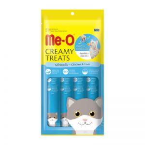 MeO Creamy Chicken and Liver Cat Treats 60 gm