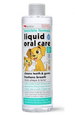 Liquid Oral Care - Invisible Dental Care Water Additive for Dogs and Cats - 225 ml