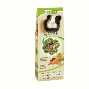 PREMIUM FOOD FOR GUINEA PIGS WITH ORANGES, CARROTS AND AMARANTH 700GM