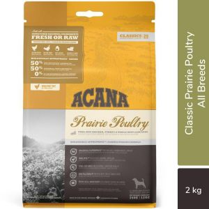 Acana Classic Prairie Poultry Dry Dog Food (All Breeds & Ages) 2KG